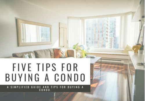 Five Tips for Buying a Condo in Comox Valley, British Columbia
