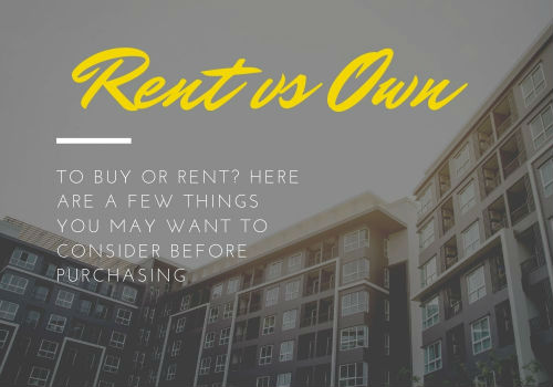 Renting Versus Buying a Home in Comox Valley, British Columbia