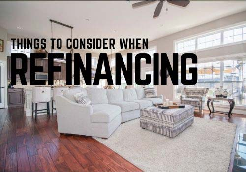 What should you consider when refinancing your mortgage in Comox?
